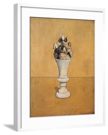 Flowers-Giorgio Morandi-Framed Giclee Print