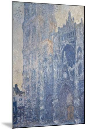 Rouen Cathedral (Morning Effect)-Claude Monet-Mounted Art Print