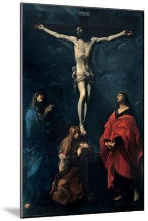 Crucifixion-Guido Reni-Mounted Art Print