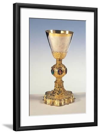 Chalice- Umbrian workmanship-Framed Art Print