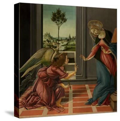 Annunciation-Sandro Botticelli-Stretched Canvas Print