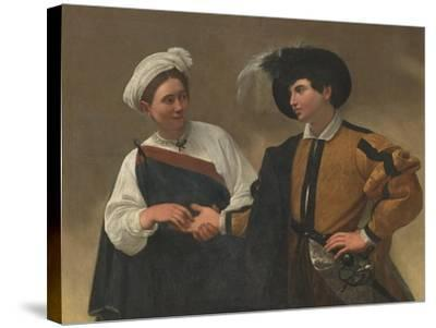 Good Luck-Caravaggio-Stretched Canvas Print