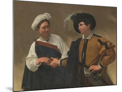 Good Luck-Caravaggio-Mounted Art Print