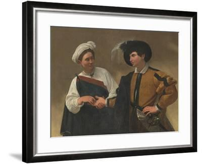 Good Luck-Caravaggio-Framed Art Print