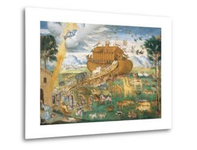 Animals Enter Noah's Ark-Aurelio Luini-Metal Print