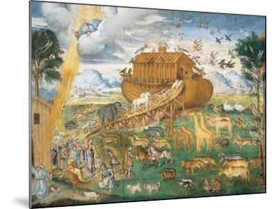 Animals Enter Noah's Ark-Aurelio Luini-Mounted Art Print
