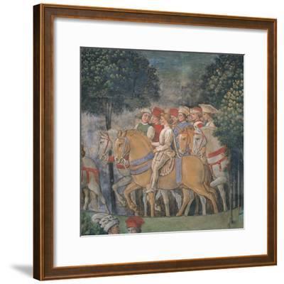 Journey of the Magi-Benozzo Gozzoli-Framed Art Print