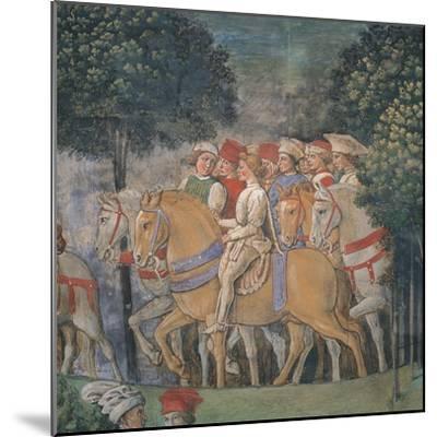 Journey of the Magi-Benozzo Gozzoli-Mounted Art Print