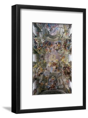 Glory of St. Ignatius-Andrea Pozzo-Framed Art Print