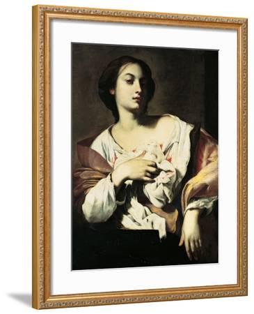 St. Agatha-Francesco Guarino-Framed Art Print