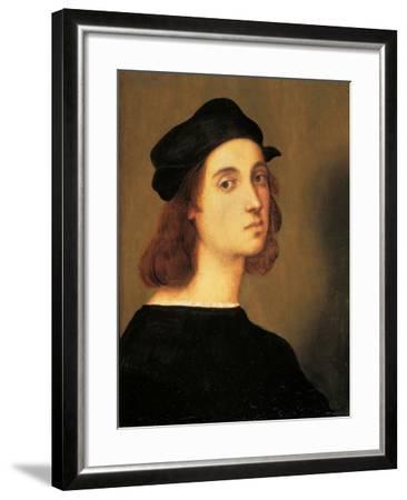 Self Portrait-Raphael-Framed Art Print