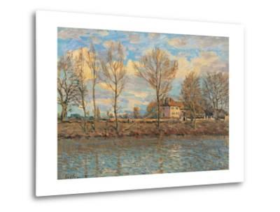 Island of La Grande Jatte, Neuilly sur Seine-Alfred Sisley-Metal Print