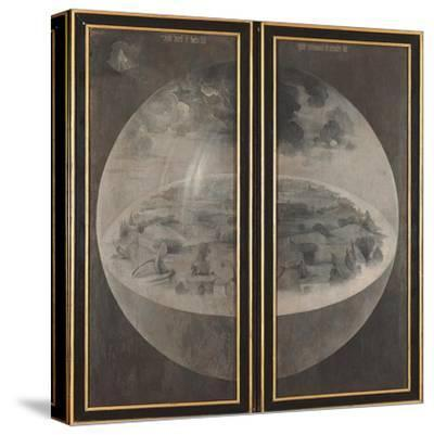 Garden of Earthly Delights, Creation of the World-Hieronymus Bosch-Stretched Canvas Print