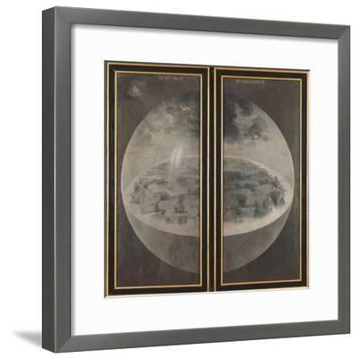 Garden of Earthly Delights, Creation of the World-Hieronymus Bosch-Framed Art Print