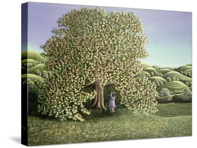 Chestnut Tree and Lovers, 1986-Liz Wright-Stretched Canvas Print