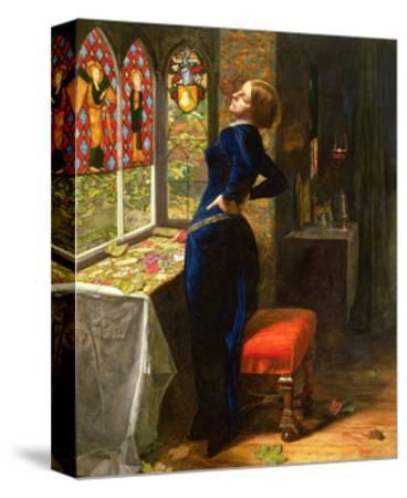 Mariana in the Moated Grange, 1851-John Everett Millais-Stretched Canvas Print