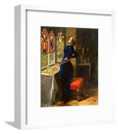 Mariana in the Moated Grange, 1851-John Everett Millais-Framed Giclee Print