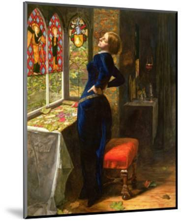 Mariana in the Moated Grange, 1851-John Everett Millais-Mounted Giclee Print