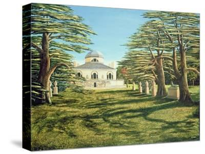 Chiswick House, 1985-Liz Wright-Stretched Canvas Print
