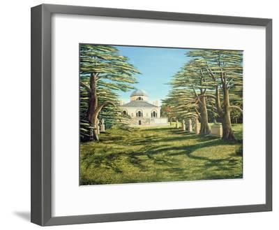 Chiswick House, 1985-Liz Wright-Framed Giclee Print