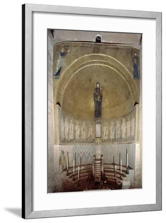 Mosaic Depicting the Madonna and Child and the Twelve Apostles, in the Cupola, Looking Forward--Framed Giclee Print