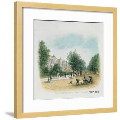 The Promenade, Cheltenham-William Dickes-Framed Giclee Print