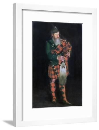 A Piper, 1885-William Kennedy-Framed Giclee Print