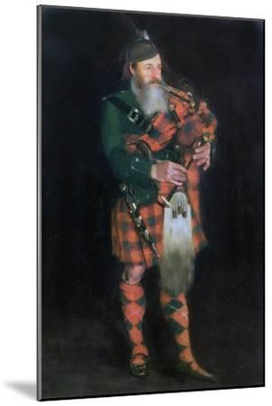 A Piper, 1885-William Kennedy-Mounted Giclee Print