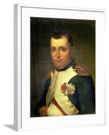 Napoleon Bonaparte (1769-1821)-Jacques-Louis David-Framed Giclee Print