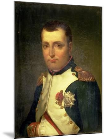 Napoleon Bonaparte (1769-1821)-Jacques-Louis David-Mounted Giclee Print