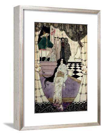 Illustration from the Little Mermaid, 1914-Harry Clarke-Framed Giclee Print