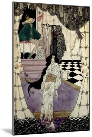 Illustration from the Little Mermaid, 1914-Harry Clarke-Mounted Giclee Print