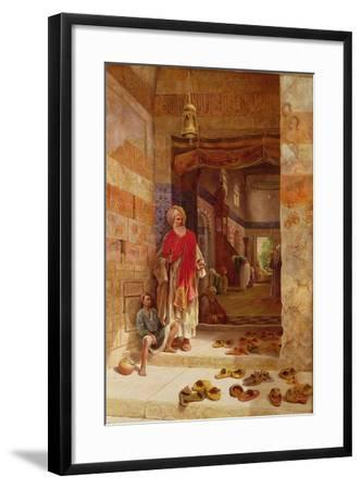 In the Name of the Prophet, Alms! 1877-Charles Robertson-Framed Giclee Print