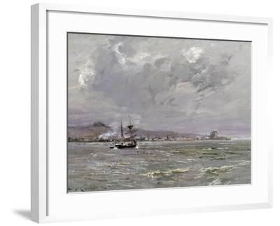 Dundee and Broughty Ferry from the South-William Bradley Lamond-Framed Giclee Print
