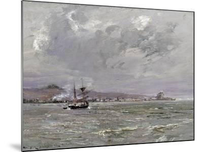 Dundee and Broughty Ferry from the South-William Bradley Lamond-Mounted Giclee Print