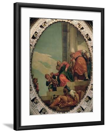 Esther Conducted to Ahasuerus-Paolo Veronese-Framed Giclee Print