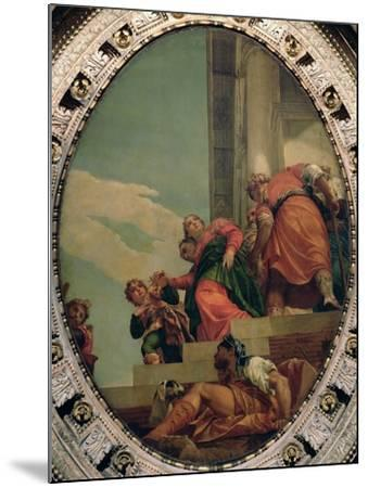 Esther Conducted to Ahasuerus-Paolo Veronese-Mounted Giclee Print