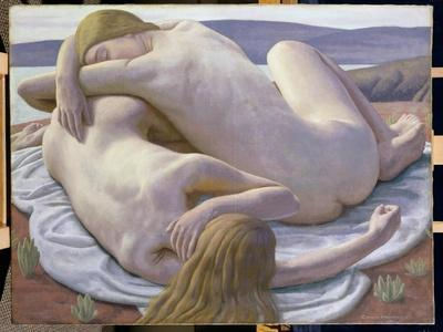 The Day's End, 1927-Ernest Procter-Framed Giclee Print