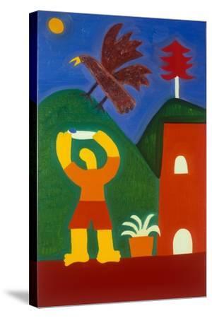 Para Jose Maria-Cristina Rodriguez-Stretched Canvas Print