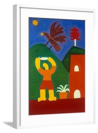 Para Jose Maria-Cristina Rodriguez-Framed Giclee Print
