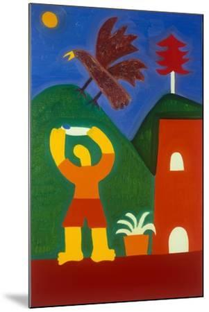 Para Jose Maria-Cristina Rodriguez-Mounted Giclee Print