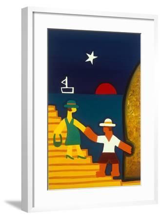 Para Olivia-Cristina Rodriguez-Framed Giclee Print