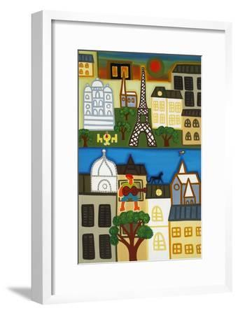 Spring in Paris-Cristina Rodriguez-Framed Giclee Print