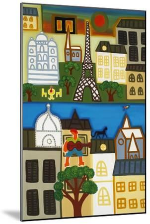 Spring in Paris-Cristina Rodriguez-Mounted Giclee Print