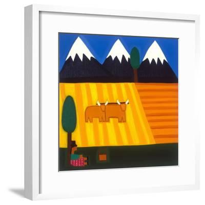 The Amazing View-Cristina Rodriguez-Framed Giclee Print