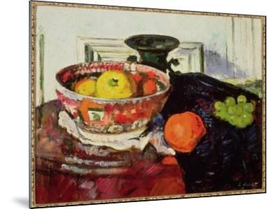 Still Life - Chinese Bowl-George Leslie Hunter-Mounted Giclee Print