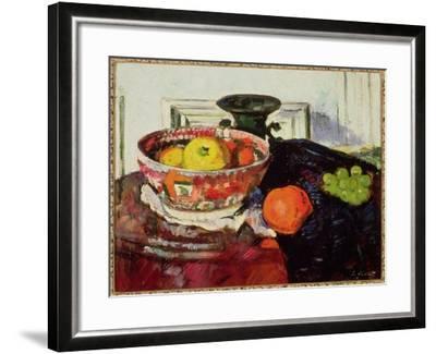 Still Life - Chinese Bowl-George Leslie Hunter-Framed Giclee Print