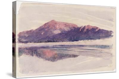Dawn Coniston, 1873-John Ruskin-Stretched Canvas Print