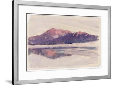 Dawn Coniston, 1873-John Ruskin-Framed Giclee Print