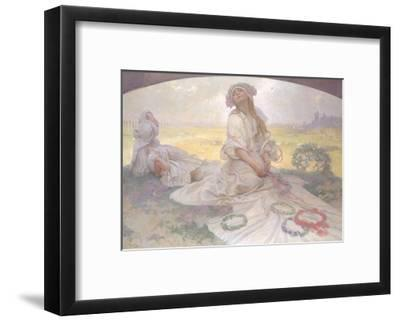 Song of Bohemia, c.1930-Alphonse Mucha-Framed Giclee Print